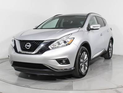 Used NISSAN MURANO 2016 WEST PALM Sv