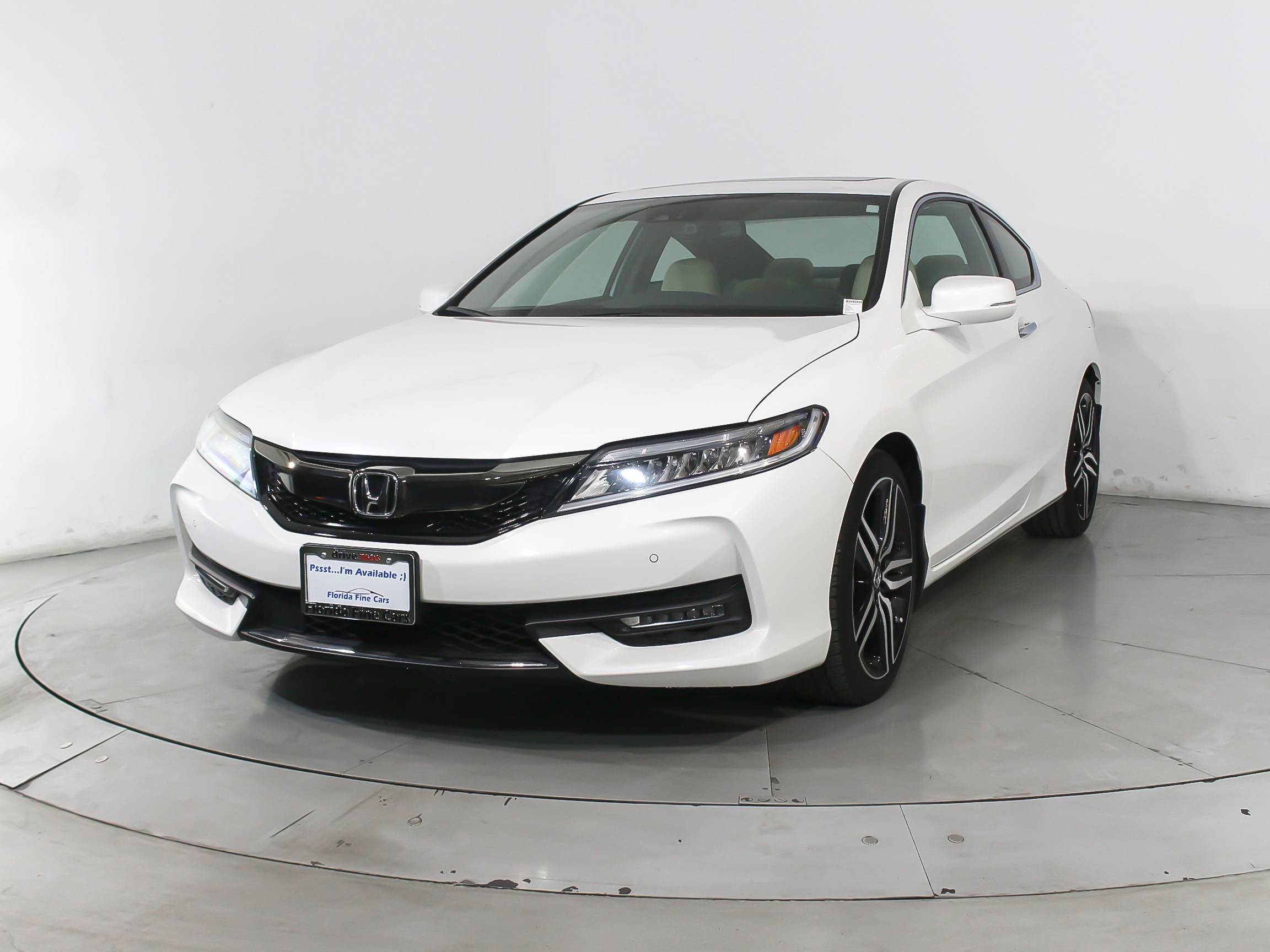 2017 Honda Accord White >> Used 2017 Honda Accord Touring V6 Coupe For Sale In Miami
