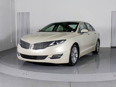 Used LINCOLN MKZ 2016 MIAMI