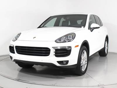 Used PORSCHE CAYENNE 2016 WEST PALM PREMIUM
