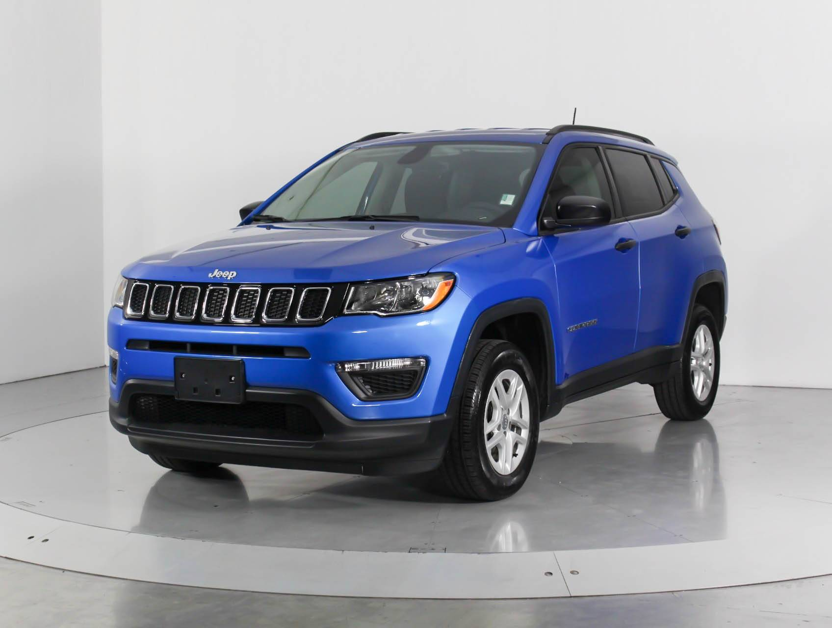 Used 2018 JEEP COMPASS Sport Awd SUV for sale in WEST PALM ...