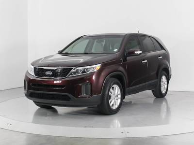 Used KIA SORENTO 2015 WEST PALM LX