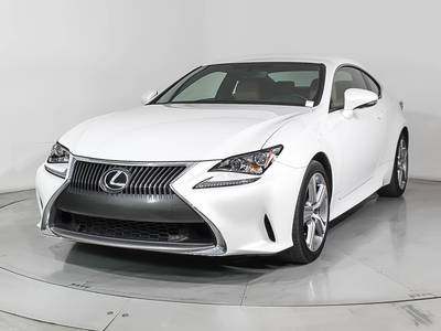 Used LEXUS RC-200T 2016 MIAMI