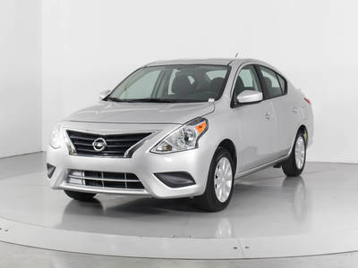 Used NISSAN VERSA 2018 HOLLYWOOD Sv