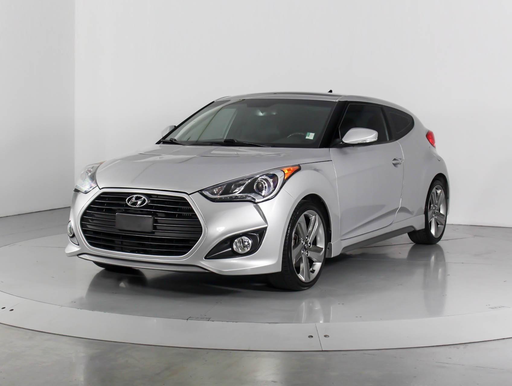 Used 2013 Hyundai Veloster Turbo Coupe For Sale In West Palm