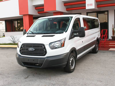 Used FORD TRANSIT-WAGON 2017 WEST PALM Xlt T-350
