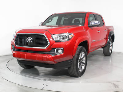 Used TOYOTA TACOMA 2016 MIAMI Limited 4x4