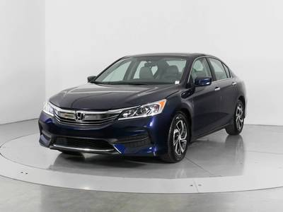 Used HONDA ACCORD 2017 WEST PALM LX