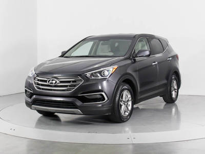 Used HYUNDAI SANTA-FE-SPORT 2017 WEST PALM