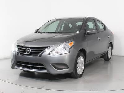 Used NISSAN VERSA 2017 HOLLYWOOD Sv
