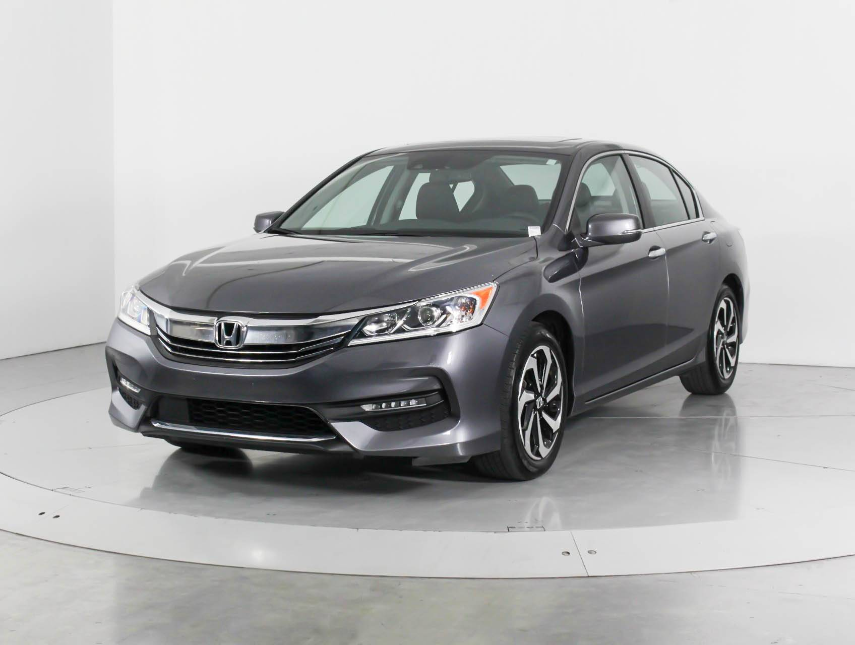Used 2016 Honda Accord Ex L Nav Sense Sedan For In West Palm Fl 102752 Florida Fine Cars