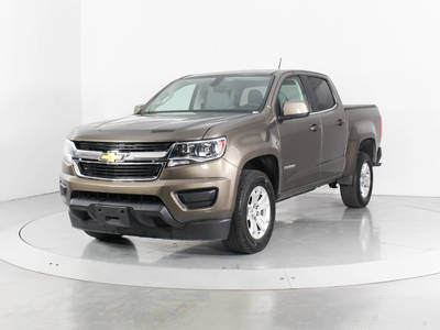 Used CHEVROLET COLORADO 2016 WEST PALM Lt Crew Cab