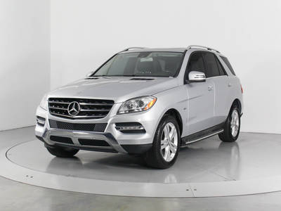 Used MERCEDES-BENZ M-CLASS 2012 WEST PALM ML350 4MATIC