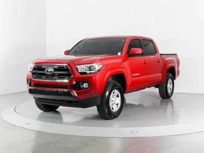 Used TOYOTA TACOMA 2016 WEST PALM SR5 4X4
