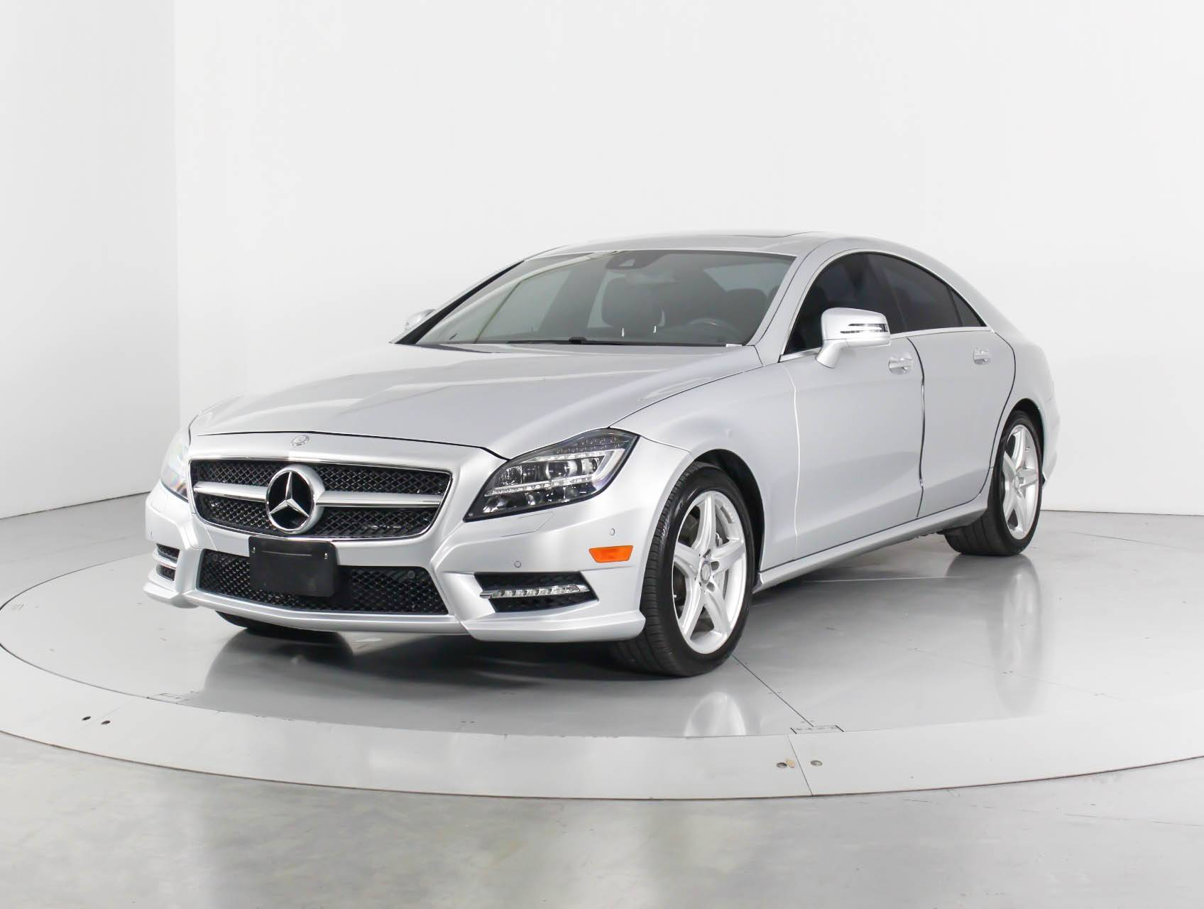 Used 2014 MERCEDES-BENZ CLS CLASS CLS550 4MATIC Sedan for sale in