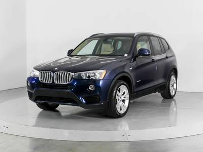 Used BMW X3 2016 WEST PALM SDRIVE28I