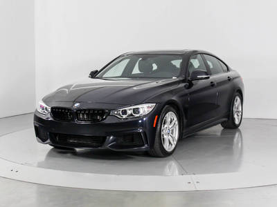 Used BMW 4-SERIES 2015 WEST PALM 435I GRAN COUPE MSP