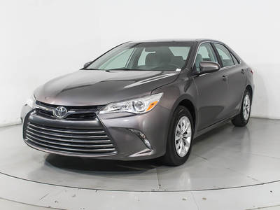 Used TOYOTA CAMRY 2017 WEST PALM LE