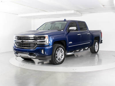 Used CHEVROLET SILVERADO 2017 WEST PALM High Country 4wd