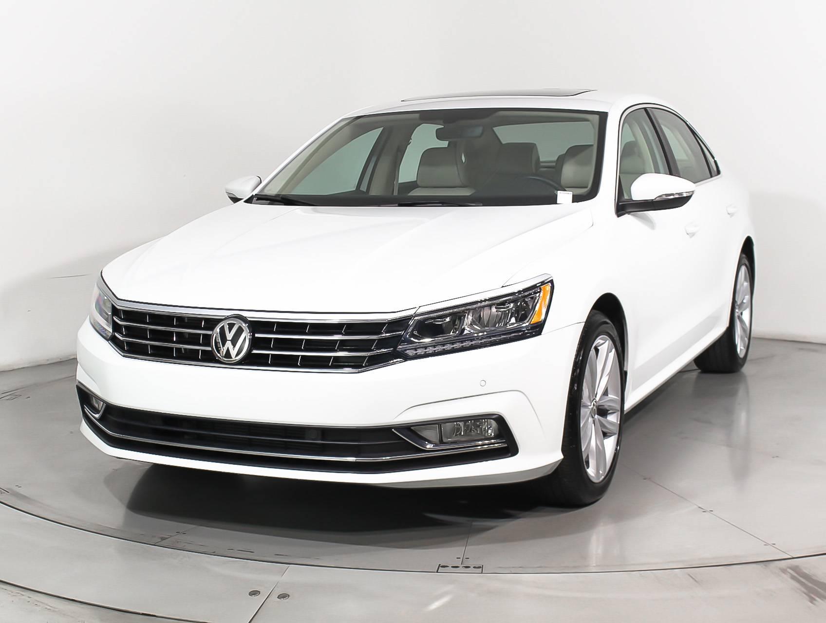 Used 2018 Volkswagen Passat Se Tech Pkg Sedan For Sale In Hollywood Fl 102908 Florida Fine Cars