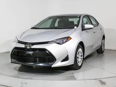 Used TOYOTA COROLLA 2017 HOLLYWOOD Le