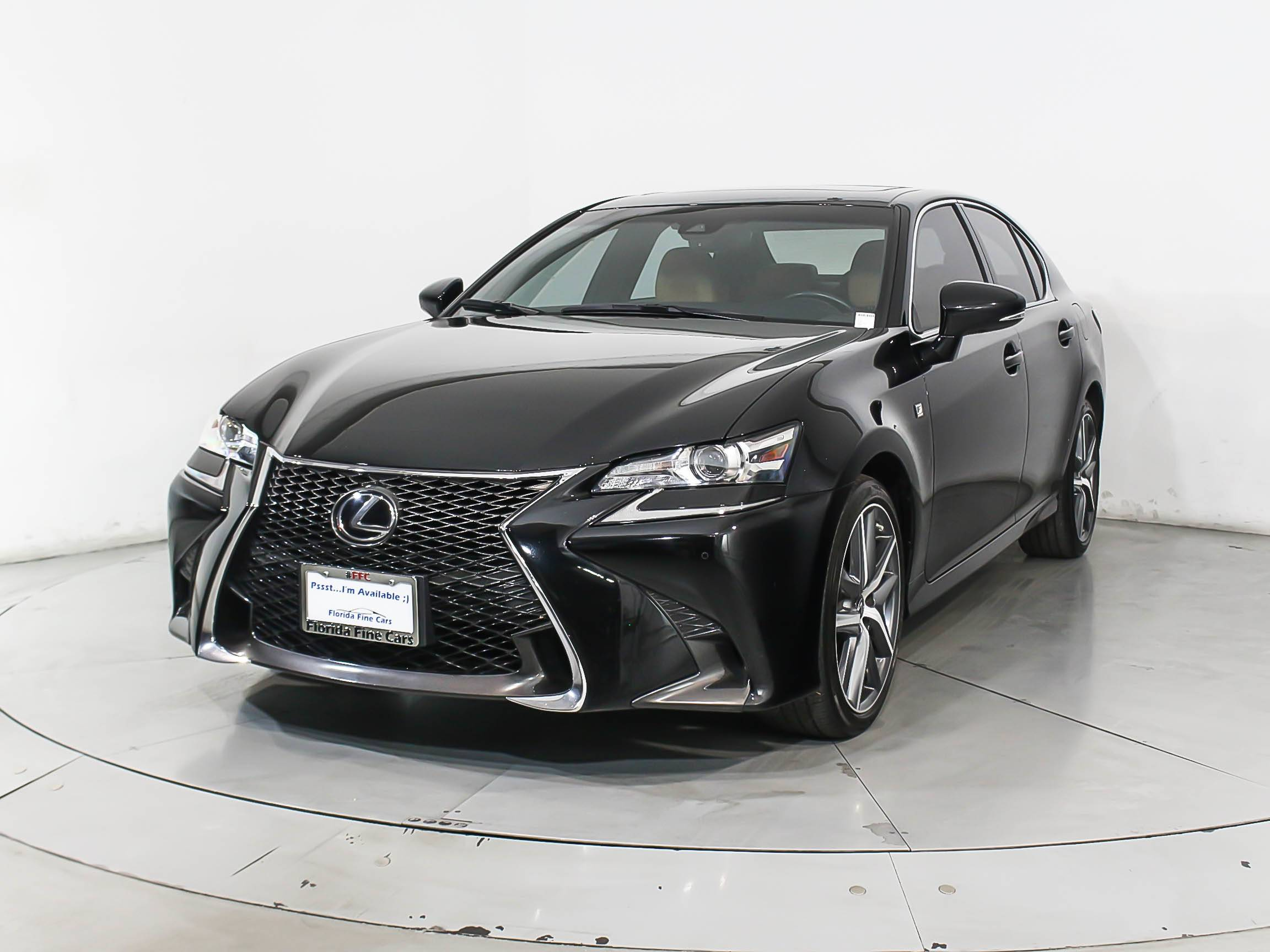 Used 2016 LEXUS GS 350 F Sport Awd Sedan for sale in MIAMI