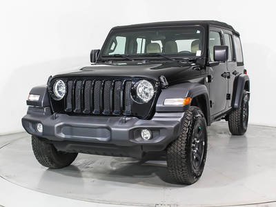 Used JEEP WRANGLER-UNLIMITED 2018 MIAMI SPORT