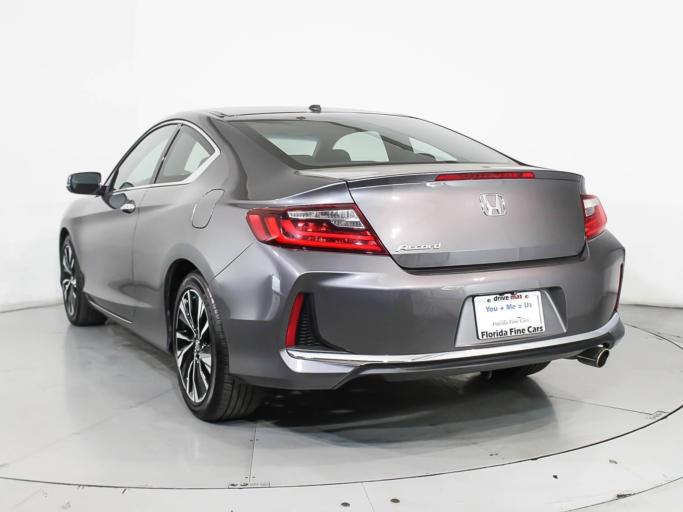 Used 2016 HONDA ACCORD EX Coupe for sale in MIAMI, FL ...