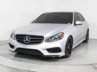 Used MERCEDES-BENZ E-CLASS 2014 HOLLYWOOD E350 Sport