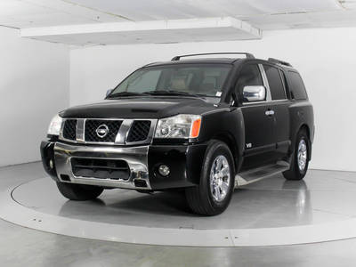 Used NISSAN ARMADA 2007 WEST PALM Le