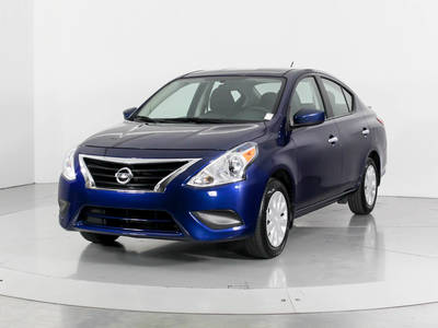 Used NISSAN VERSA 2018 WEST PALM Sv