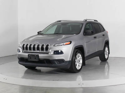 Used JEEP CHEROKEE 2015 WEST PALM SPORT