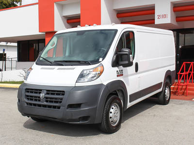 Used RAM PROMASTER-1500 2018 MIAMI LOW ROOF 136WB