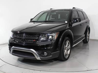 Used DODGE JOURNEY 2017 HOLLYWOOD Crossroad Plus