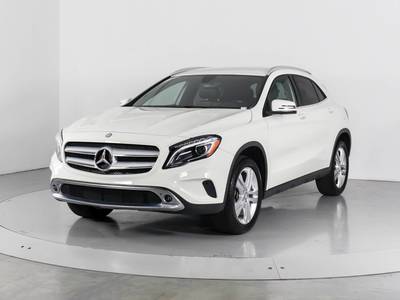 Used MERCEDES-BENZ GLA-CLASS 2016 WEST PALM GLA250