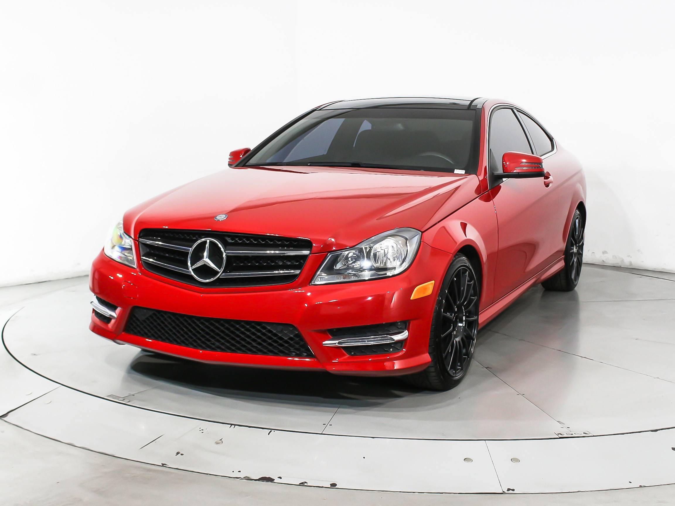 Used 2014 mercedes benz c class c350 4matic coupe for sale - Mercedes c class coupe 2014 ...