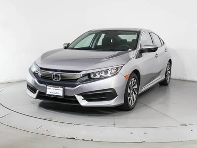 Used HONDA CIVIC 2016 HOLLYWOOD Ex