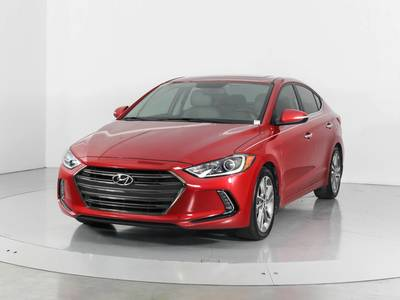 Used HYUNDAI ELANTRA 2017 WEST PALM Limited Technology