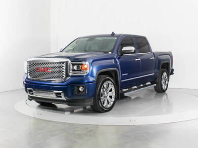Used GMC SIERRA 2015 WEST PALM Denali Crew Cab