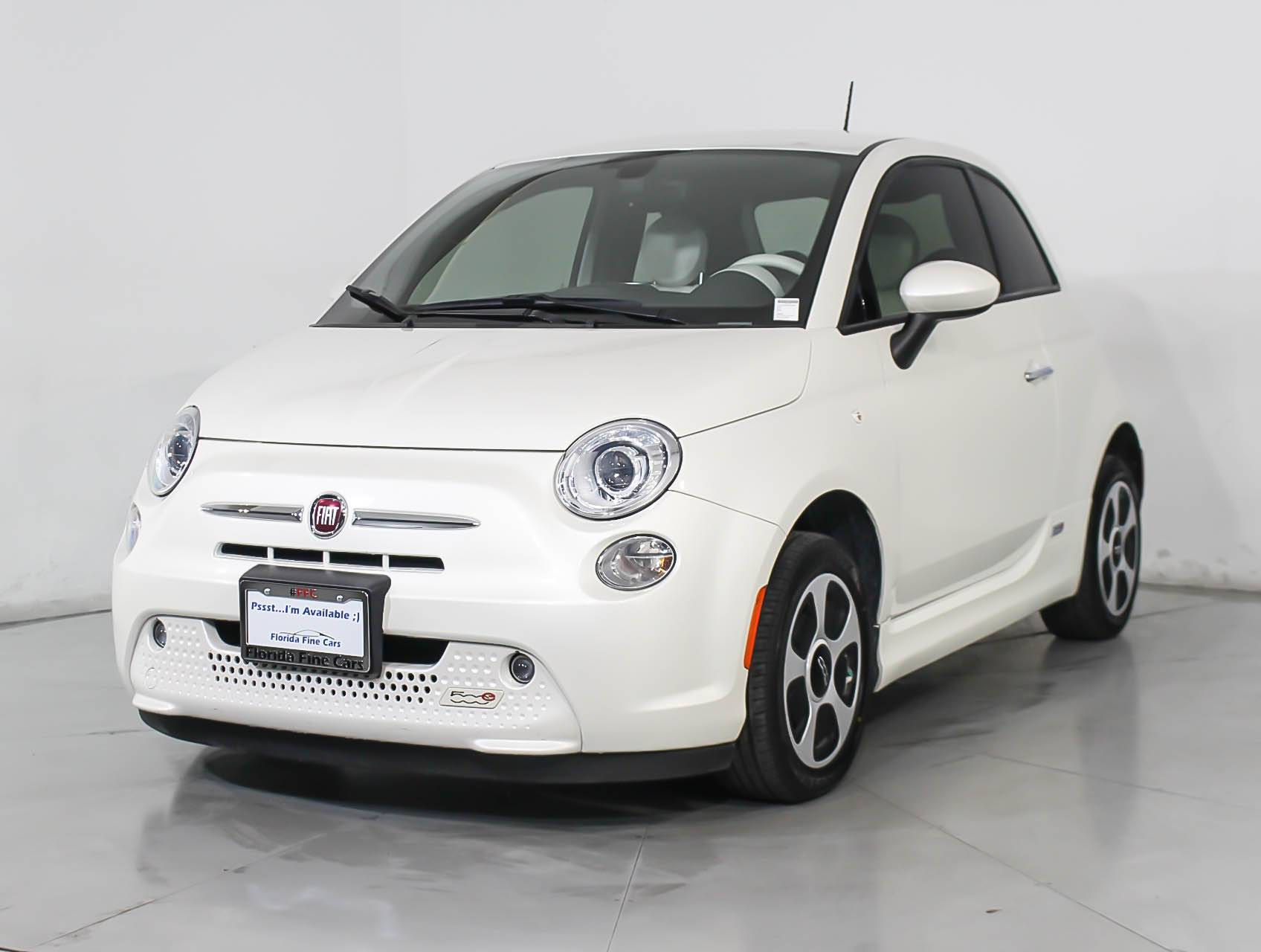 Used 2016 Fiat 500e Battery Electric Hatchback For In Hollywood Fl 103527 Florida Fine Cars
