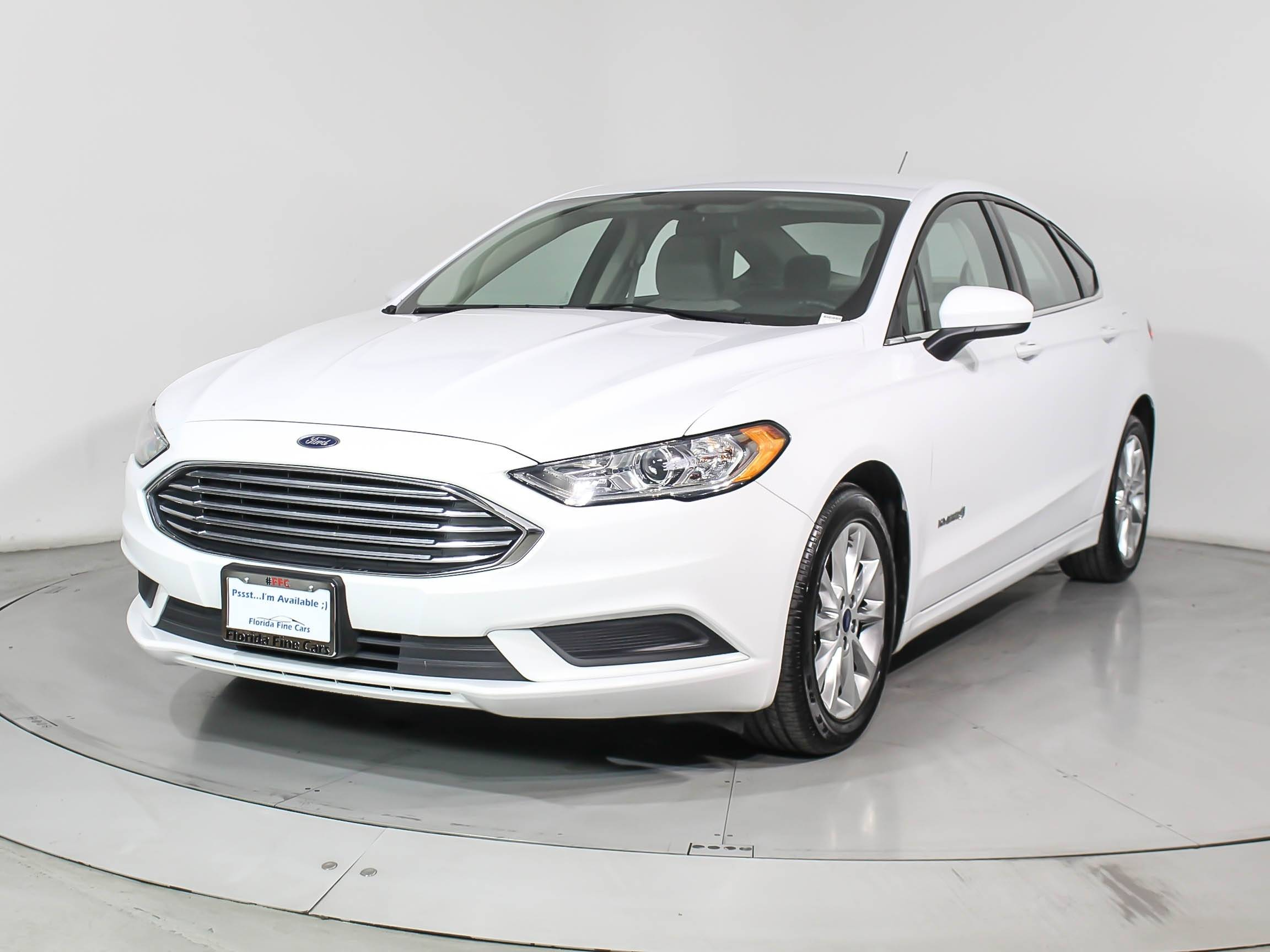Used 2017 Ford Fusion Se Hybrid Sedan For In Hollywood
