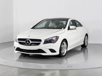 Used MERCEDES-BENZ CLA-CLASS 2016 HOLLYWOOD CLA250