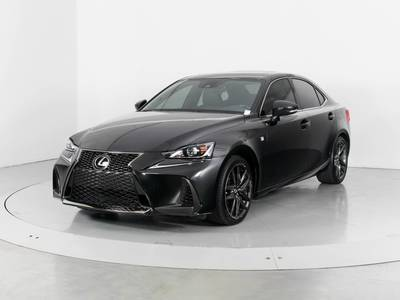 Used LEXUS IS-200T 2017 WEST PALM F SPORT