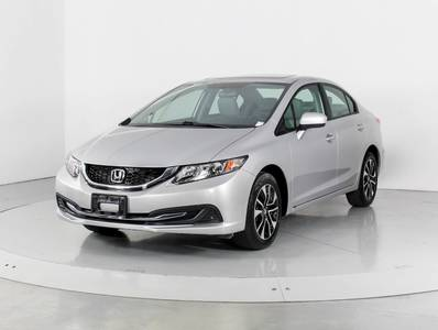 Used HONDA CIVIC 2015 WEST PALM EX