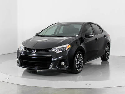 Used TOYOTA COROLLA 2014 WEST PALM S