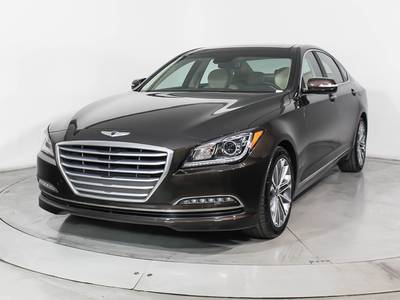Used HYUNDAI GENESIS 2016 HOLLYWOOD Signature Package