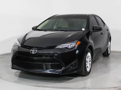 Used TOYOTA COROLLA 2018 HOLLYWOOD Le