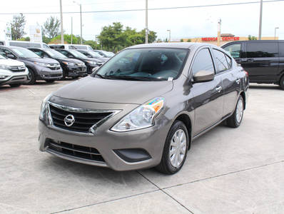 Used NISSAN VERSA 2016 WEST PALM Sv