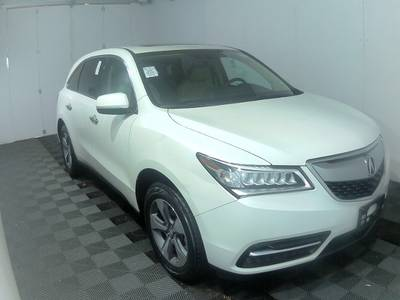 Used ACURA MDX 2016 WEST PALM