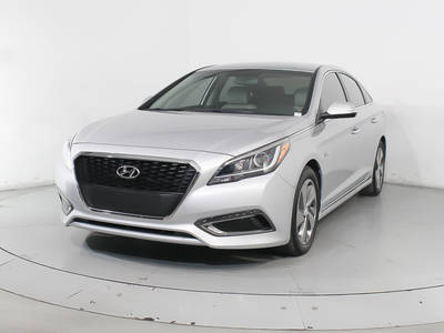 Used Hyundai Sonata-Hybrid 2017 HOLLYWOOD LIMITED